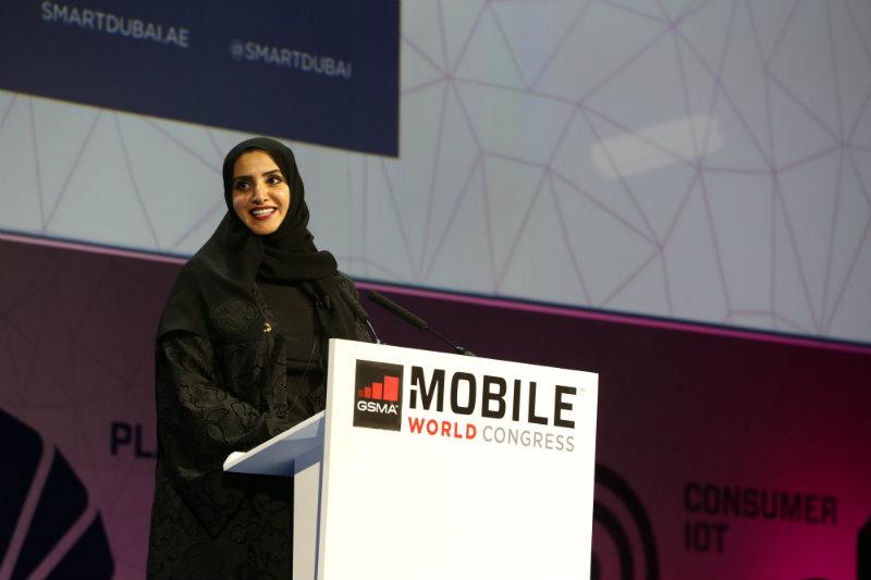Dr. Aisha Bin Bishir, Director General, Smart Dubai