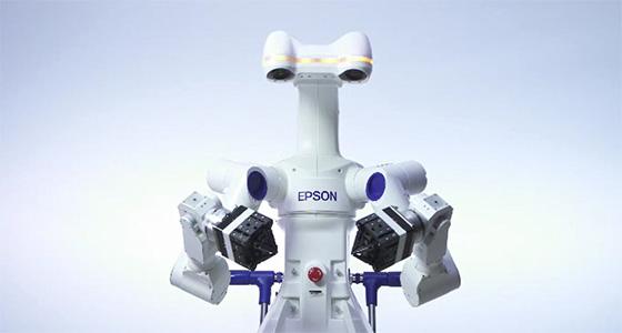Autonomous dual-arm robot