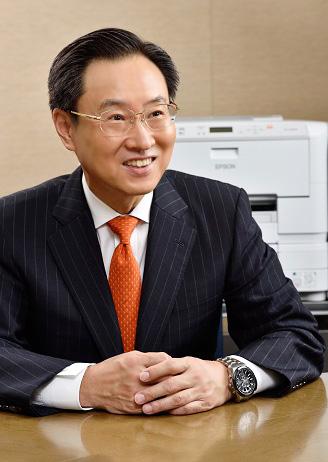 Minoru Usui, CEO, Epson