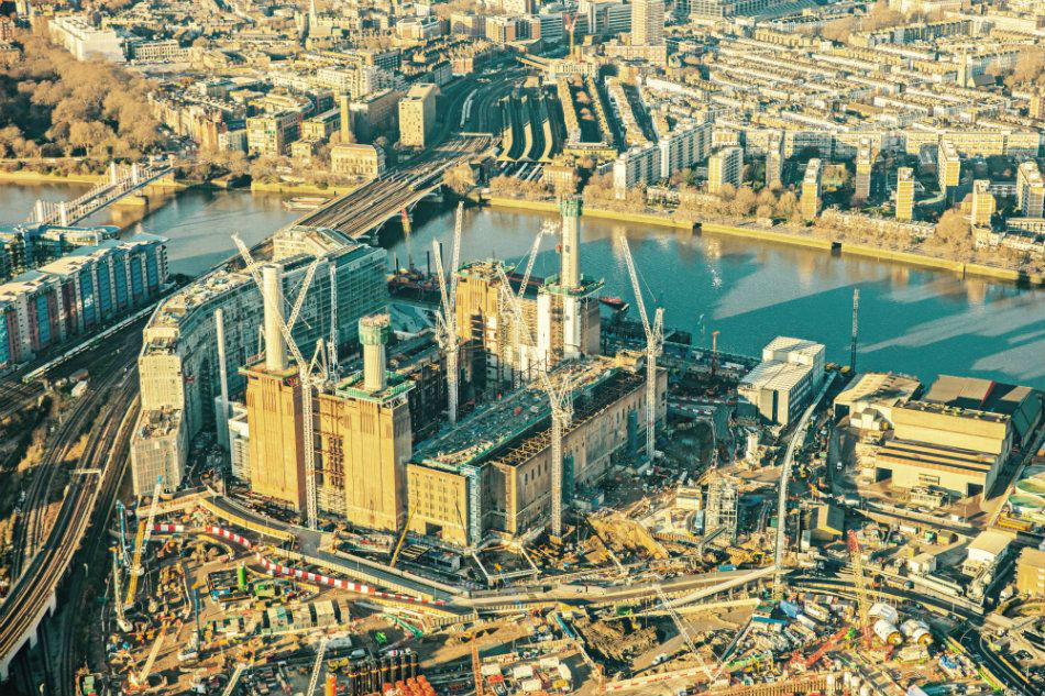 Battersea Power Station in London will be a mixed-use destination