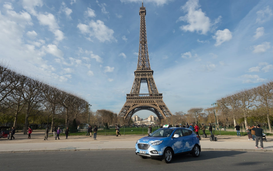 Hyundai Motor supplies fuel-cell vehicles to HYPE in Greater Paris