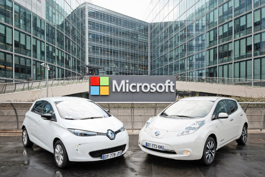 Renault-Nissan and Microsoft partner for the future of connected driving