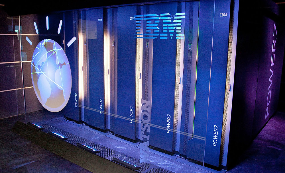 IBM's question-answering supercomputer, Watson