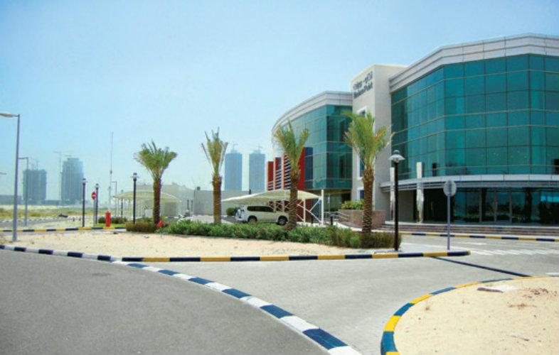 The RIT Dubai campus building in the Dubai Silicon Oasis