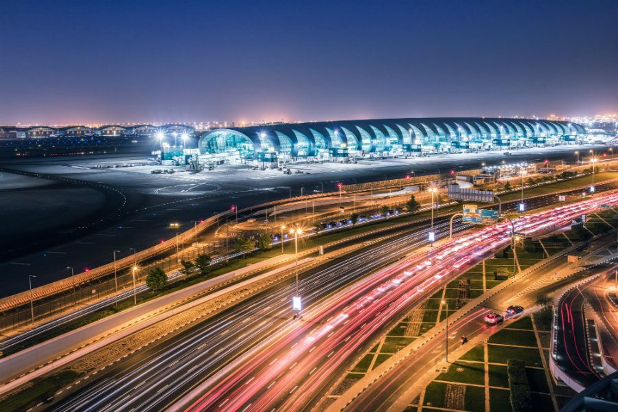 Dubai International is the busiest airport in the world in terms of international passengers