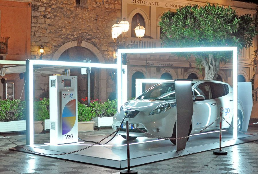 Enel's vehicle-to-grid technology for smart cities