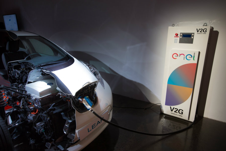 Nissan and Enel team up for their groundbreaking vehicle-to-grid project